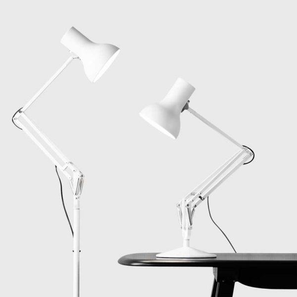 Anglepoise Type-75-Mini-Desk-&-Floor-Lamp---Alpine-White