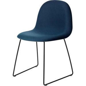 Gubi-3D-Dining-Chair-Front-Upholstered-Sledge-Base-4