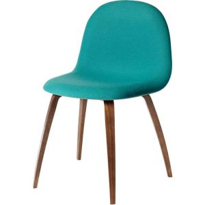 Gubi-3D-Dining-Chair-Front-Upholstered-Wood-Base-2