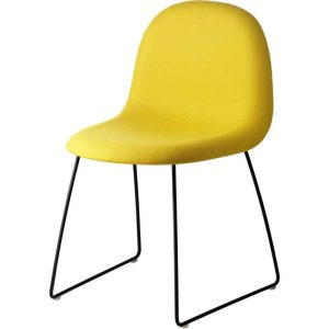 Gubi-3D-Dining-Chair-Fully-Upholstered-Sledge-Base-1