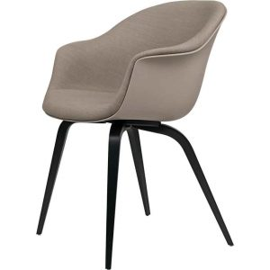 Gubi-Bat-Dining-Chair-Front-Upholstered-Wood-Base-2