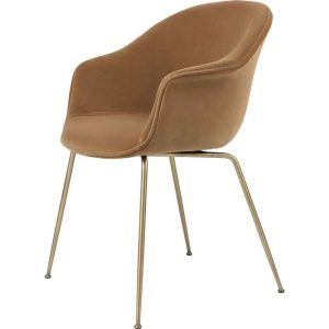 Gubi-Bat-Dining-Chair-Fully-Upholstered-Conic-Base-13