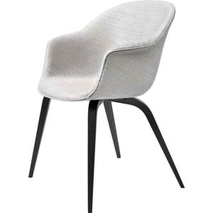 Gubi-Bat-Dining-Chair-Fully-Upholstered-Wood-Base-2