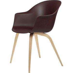 Gubi-Bat-Dining-Chair-Un-Upholstered-Oak-Semi-Matt-Lacquered-Base-3