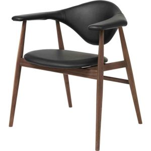 Gubi-Masculo-Dining-Chair-Fully-Upholstered-Wood-Base-3