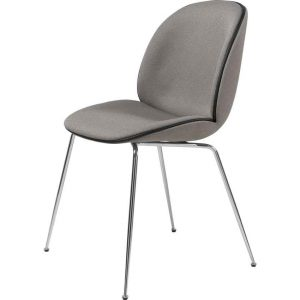 Gubi-Beetle-Dining-Chair-Fully-Upholstered-Chrome-Conic-base-2
