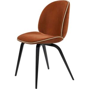 Gubi-Beetle-Dining-Chair-Fully-Upholstered-Wood-base-2