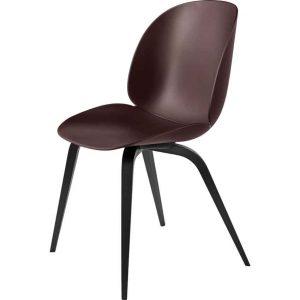 Gubi-Beetle-Dining-Chair-Unupholstered--Black-Wood-Base-3