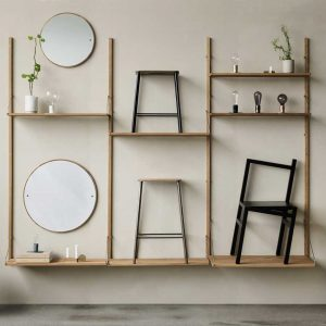 Frama-Shelf-Library-Natural-H1852-Triple-Section-1